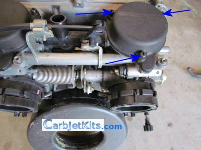 carb top removal