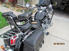 Universal Motorcycle Arm Rest with Studs
